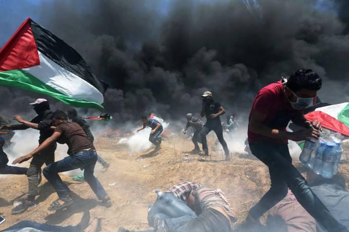 Protestos na Faixa de Gaza