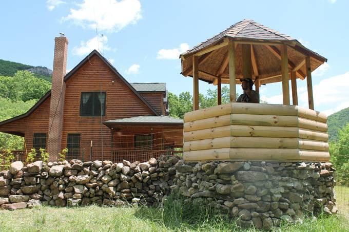 Fortitude Ranch, em West Virginia, nos Estados Unidos