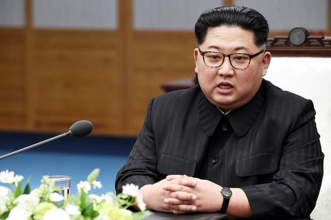 Líder Norte Coreano Kim Jong-Un