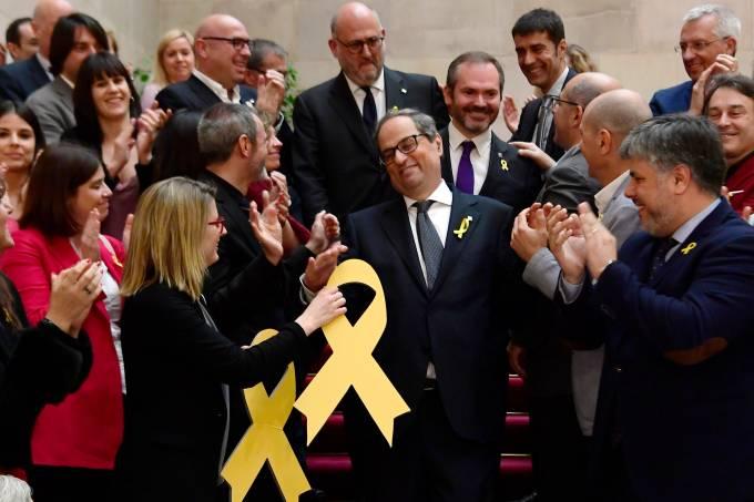 Presidente da Catalunha, Quim Torra
