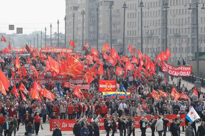 Dia do Trabalho Rússia