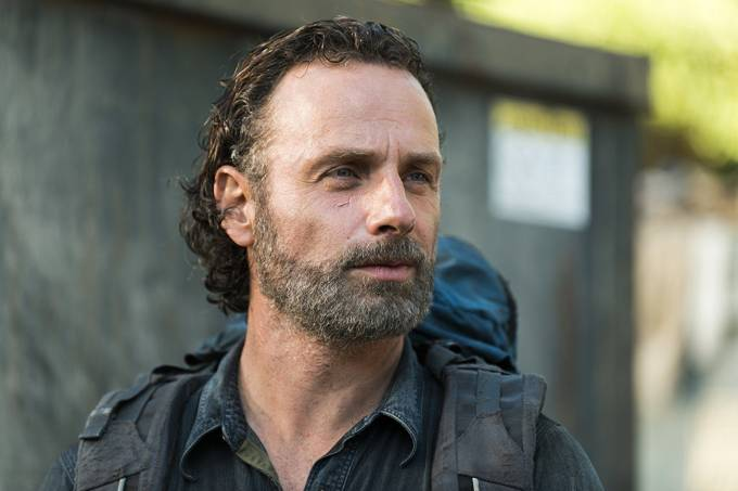 Andrew Lincoln, o rick Grimes de 'The Walking Dead'