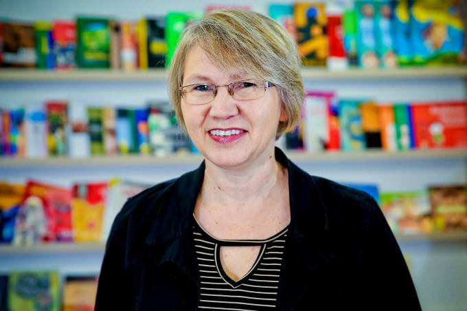 Sandra Spellmeier Zuchi, professora de português da EMEF Duque de Caxias