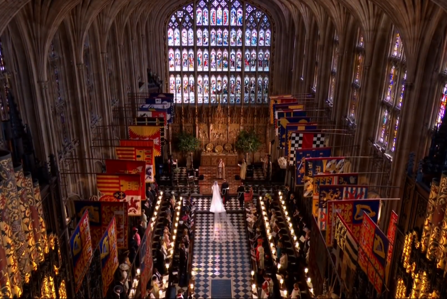 Príncipe Harry e Meghan Markle se casam na capela de São Jorge, em Windsor
