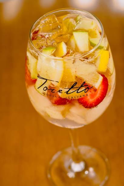 Toretto Cucina Italiana: opção de double drink para Cliente Santander