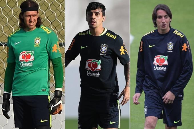 Cássio, Fagner e Geromel foram convocados à seleção