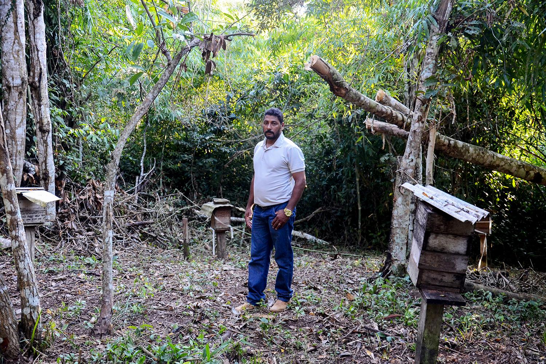 Tião Pereira, morador da reserva Chico Mendes: 'Daqui a dez anos, eu vejo só campo. Vai virar pasto'
