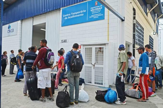 Refugiados venezuelanos em São Paulo
