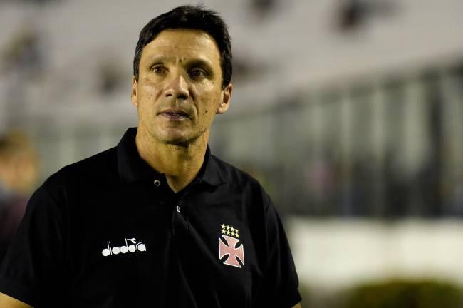 O técnico Zé Ricardo, do Vasco (30.05.2018)
