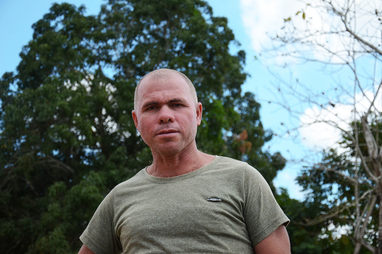 Estevão Barbosa de Brito, morador da reserva: 'O sonho do Chico sumiu, desapareceu. Para resgatar isso vai dar trabalho'