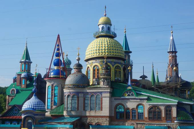 2. Templo de Todas as Religiões, em Kazan
