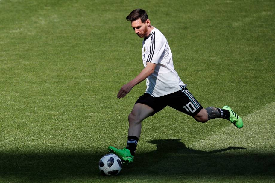 Messi estreia em sua quarta Copa do Mundo contra a Islândia, em Moscou