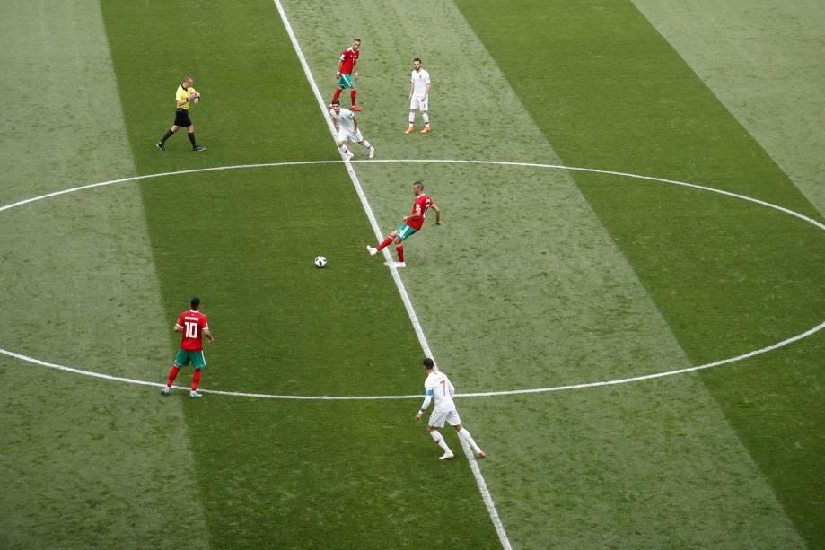 Portugal e Marrocos se enfrentam no estádio luzhniki em Moscou - 20/06/2018