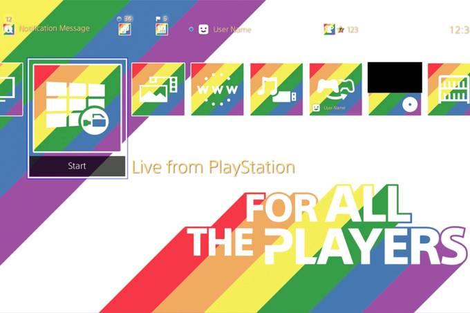 Sony disponibiliza o layout 'Para Todos os Jogadores' para PS4