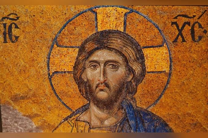 5. Afresco com a imagem do Cristo