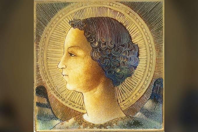 Pintura do Arcanjo Gabriel