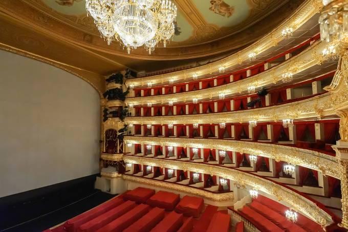 Teatro Bolshoi, em Moscou