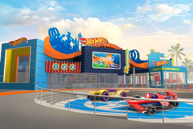 Parque Hot Wheels no Beto Carrero World