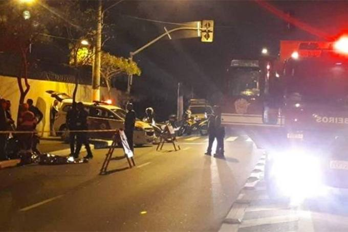 Motorista atropela e mata mãe com dois filhos que atravessavam na faixa de pedestres