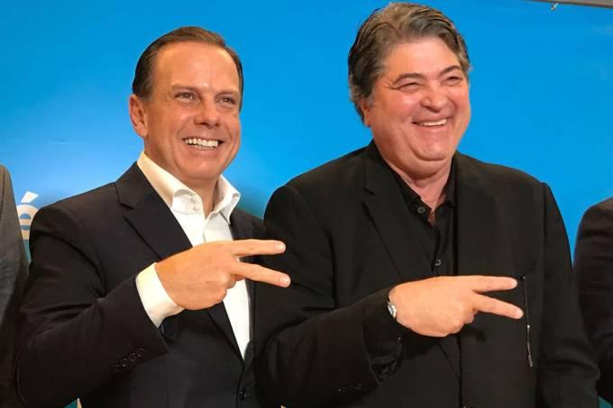 João Doria e José Luiz Datena