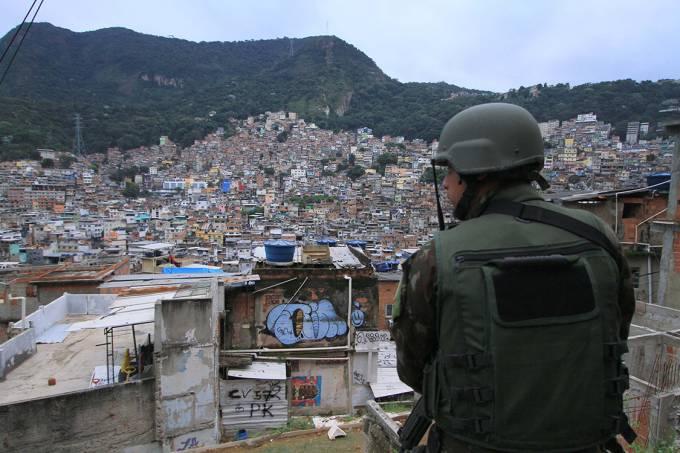 Operação na Comunidade da Rocinha