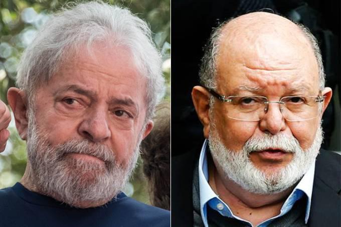 Lula e Léo Pinheiro