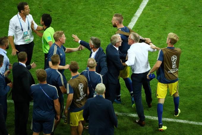 Copa do Mundo – Alemanha x Suécia