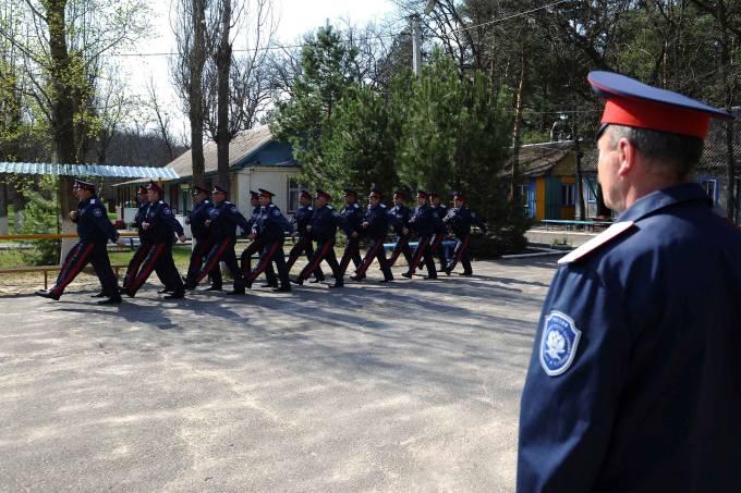 Soldados Cossacos na Rússia