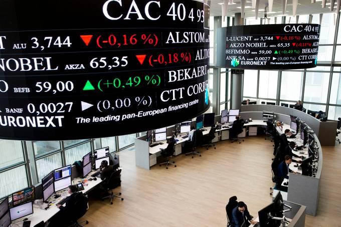 Bolsa de valores na França