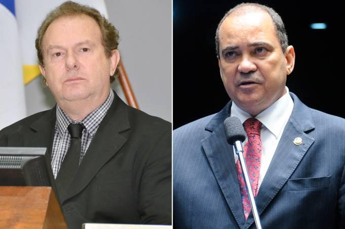 Mauro Carlesse e Vicentinho Alves