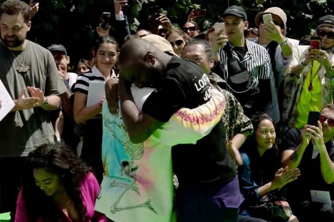 Virgil Abloh e Kanye West