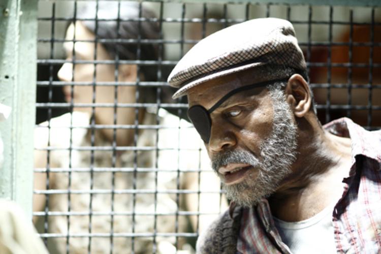 Danny Glover em cena do filme ''Ensaio sobre a cegueira' (2008)