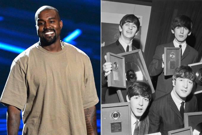 Kanye West e os Beatles