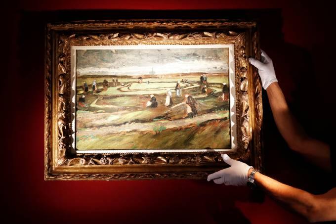 Obra de Van Gogh é leiloada