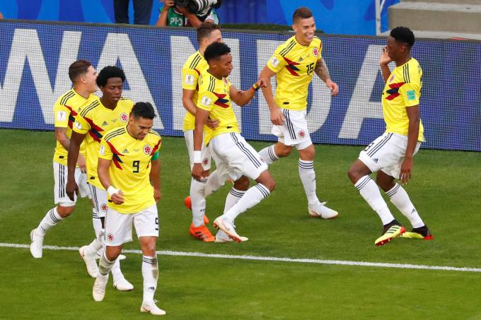Copa do Mundo – Senegal x Colômbia – Enquete