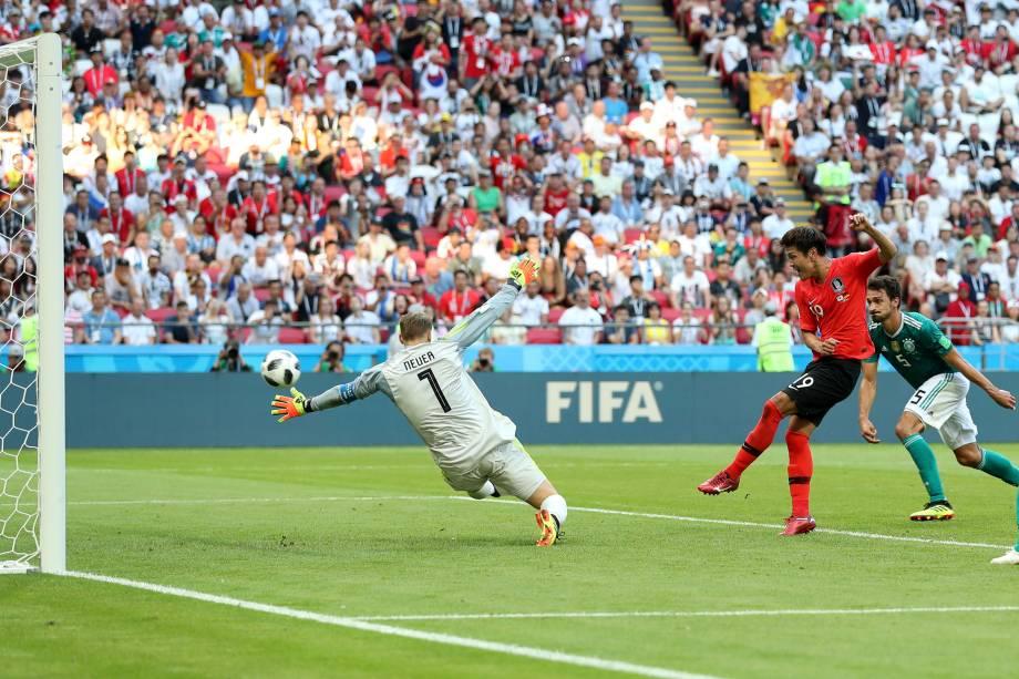 Kim Young-gwon marca primeiro gol da Coreia do Sul em partida contra a Alemanha - 27/06/2018