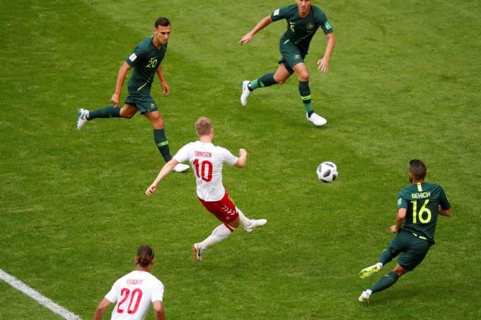 Copa do Mundo – Dinamarca x Austrália