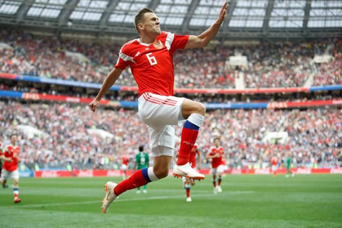 Copa do Mundo – Rússia x Arábia Saudita