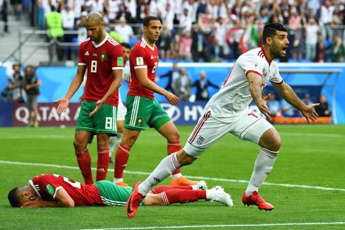 Copa do Mundo – Marrocos x Irã