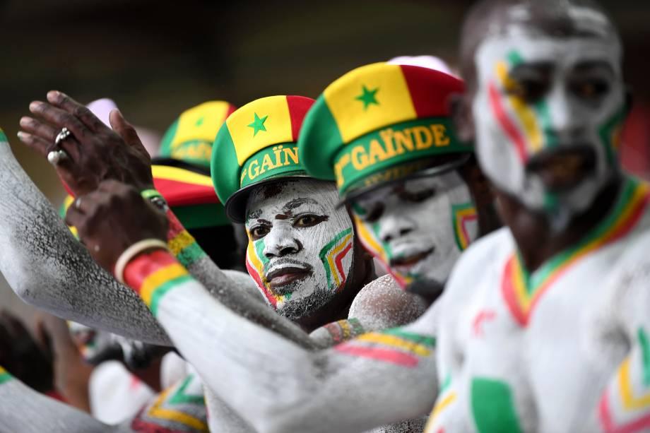 Torcedores comemoram após Senegal derrotar a Polônia por 2 a 1, em partida válida pelo grupo H da Copa do Mundo - 19/06/2018