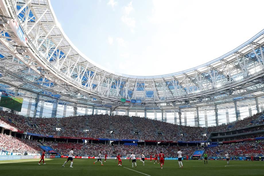 Inglaterra e Panamá se enfrentam pela segunda rodada do grupo G em Níjni Novgorod - 24/06/2018