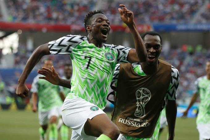 Copa do Mundo – Nigéria x Islândia