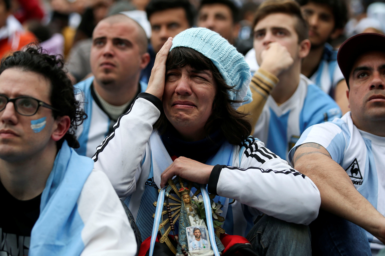 Sofrimento argentino em Buenos Aires