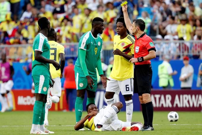 Copa do Mundo – Senegal x Colômbia