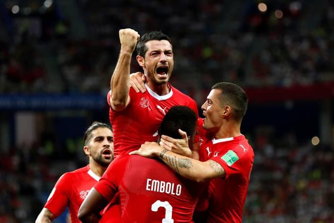 Copa do Mundo – Suíça vs Costa Rica