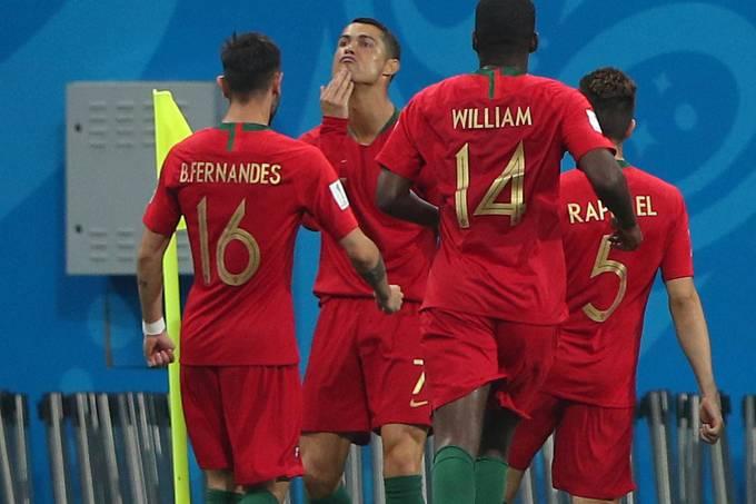 Copa do Mundo – Portugal  x Espanha