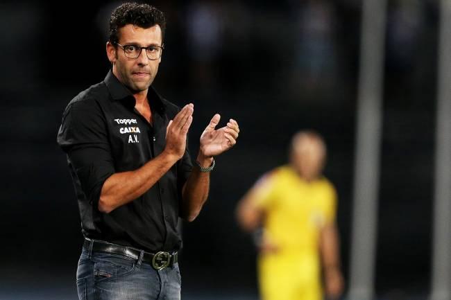 Alberto Valentim, ex-técnico do Botafogo - 16/04/2018