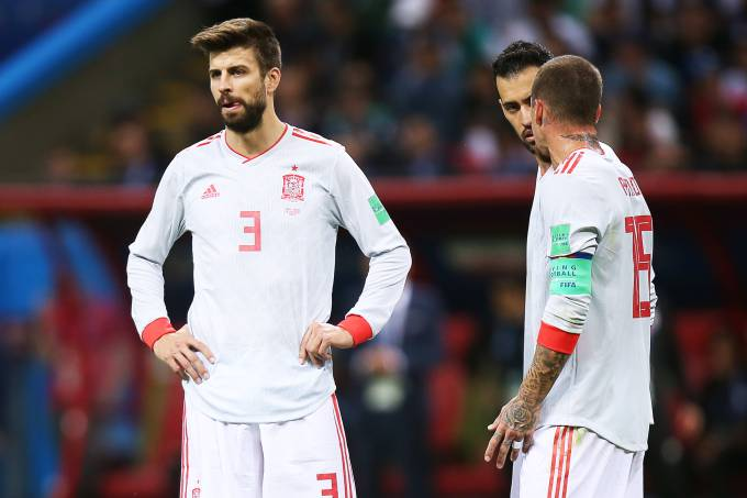 Copa do Mundo – Espanha x Irã
