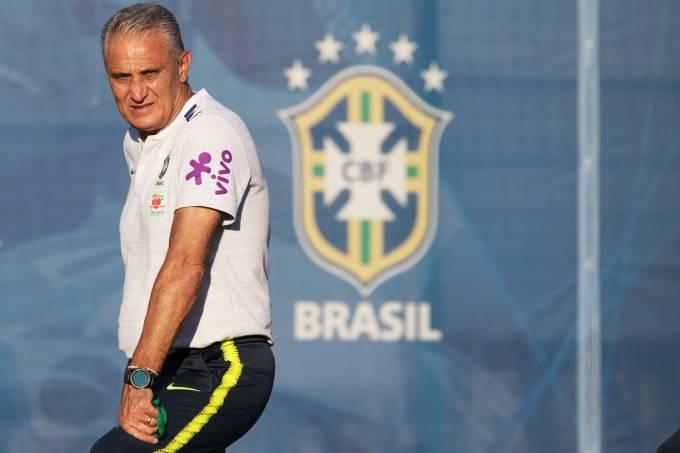 Treino da Seleção Brasileira – Tite