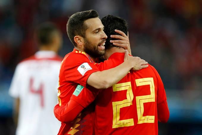 Copa do Mundo – Espanha vs Marrocos
